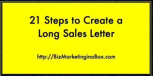 Long sales letter (featured)