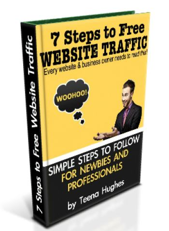 Newsletter: 7 Steps to Free Website Traffic (book)