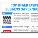What are the top 10 web tasks every business owner should know?