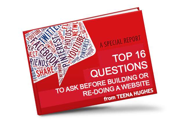 Top 16 Questions to ask before building or re-doing a website