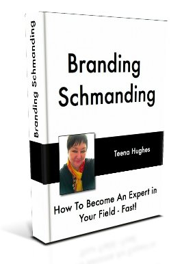 Branding Schmanding book by Teena Hughes, Become an Expert (image)