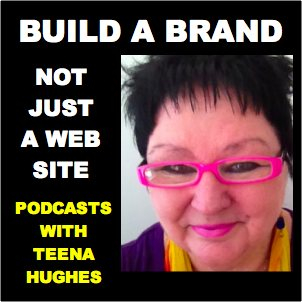 Build A Brand Podcast with Teena Hughes (image) Check Your Website Links
