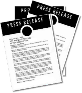 Press Release Distribution builds brand recognition (image)
