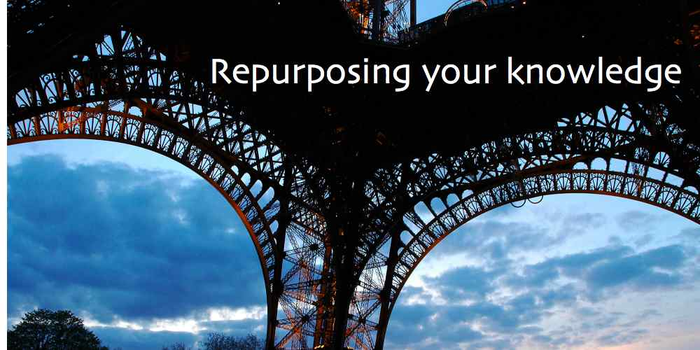 Repurposing your knowledge as clever marketing