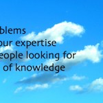 Solve problems for potential customers