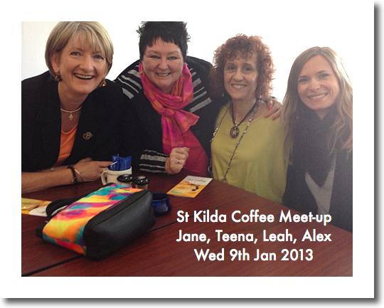 St Kilda Coffee with Teena Hughes
