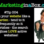 Treat your website like a garden
