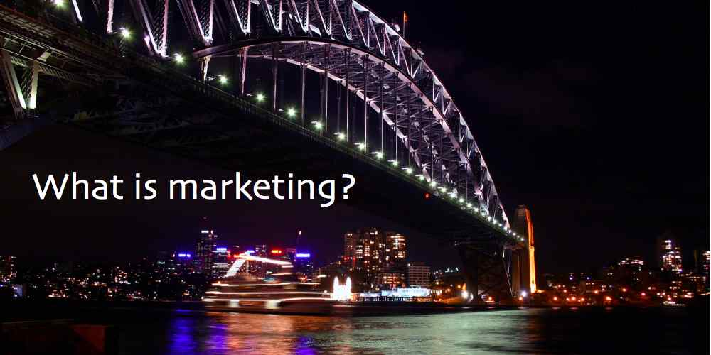 What is marketing? (image)
